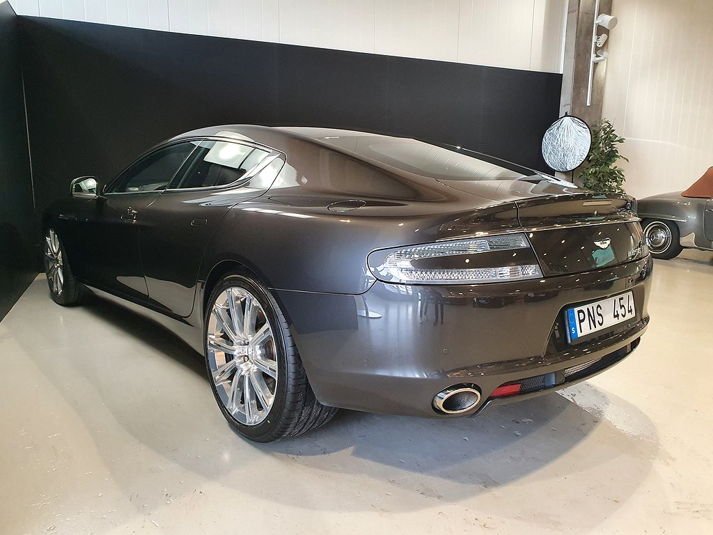 Aston Martin Rapide 5.9 V12 Aut 477hk Svensksåld