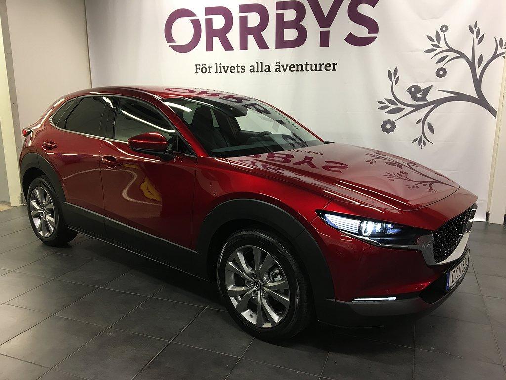 Mazda CX-30 Mildhybrid 2,0 180hk Sky med Tech pack 10 års garanti, Gamla ska