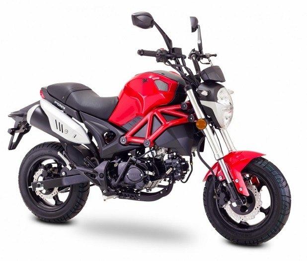 "Övrigt EU moped 45 km/h ""Streetpony"" röd, 50cc"