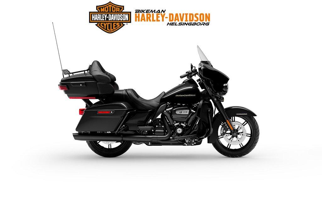Harley-Davidson FLHTK - BLACK FINISH 2 ÅRS GAR FRI FRAKT