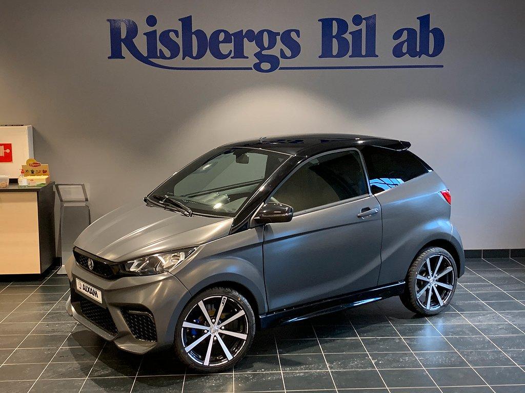Aixam Coupé GTI ABS BROMSAR, APPLE CARPLAY