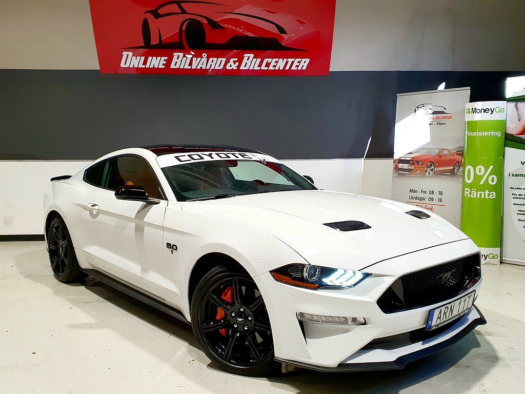 Ford Mustang GT 5.0 V8 Automat Euro 6 450hk