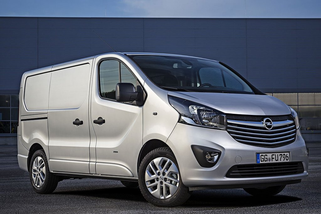 Opel Vivaro Skåp 1.6 125 L1H1 Holmgrens Edition