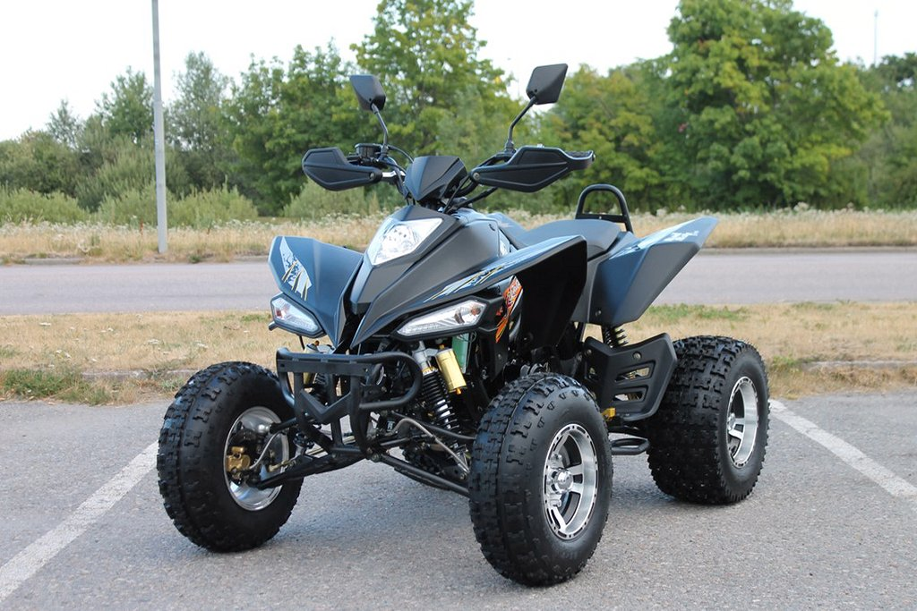 ATV 250cc Bashan Badboy Elite Rated-X Svart