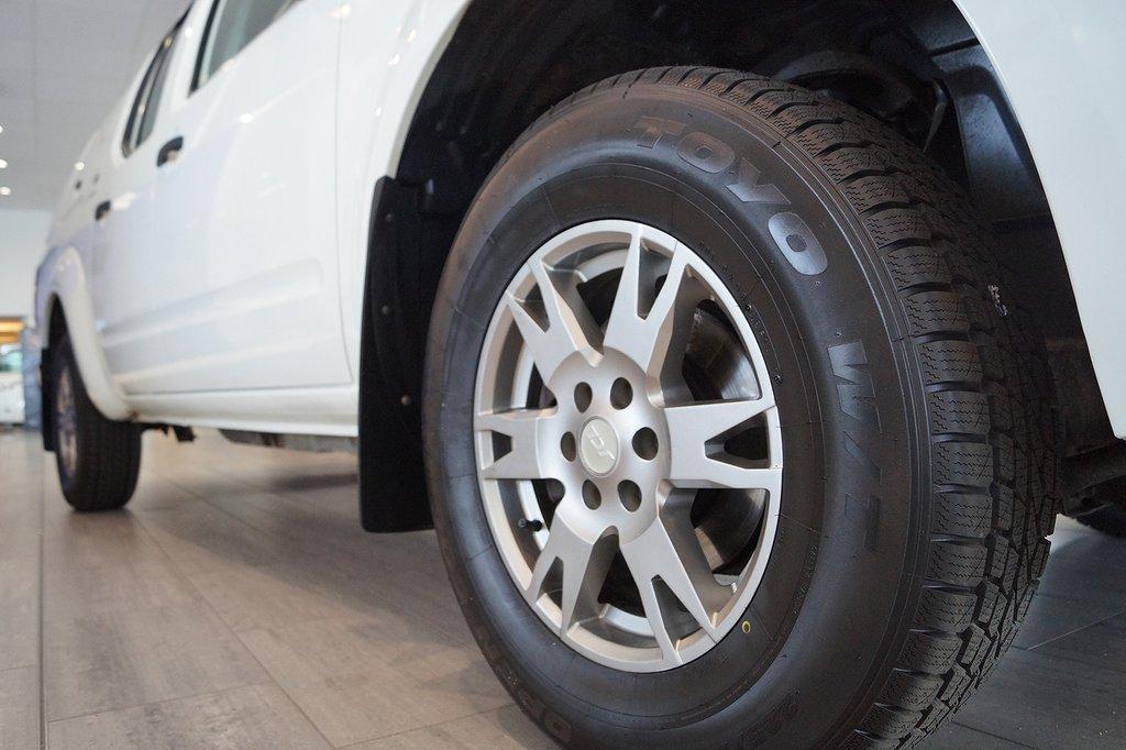 Nissan Navara Dubbelhytt 2.5 144hk dCi 4x4 Manuell *Kåpa*
