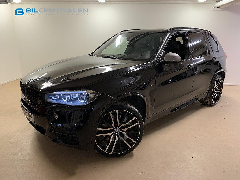 BMW X5 M50d M Sport 7-sits Black Weekend*
