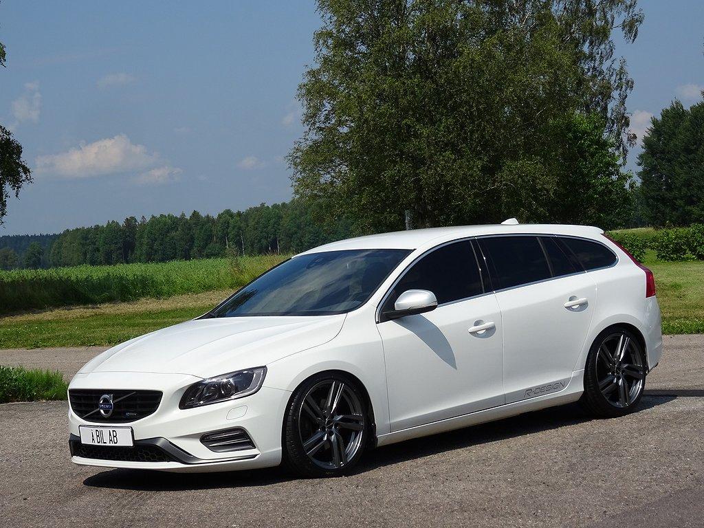 "Volvo V60 D4 AWD Geartronic R-Design 19"" Coils ev byte/avbet"