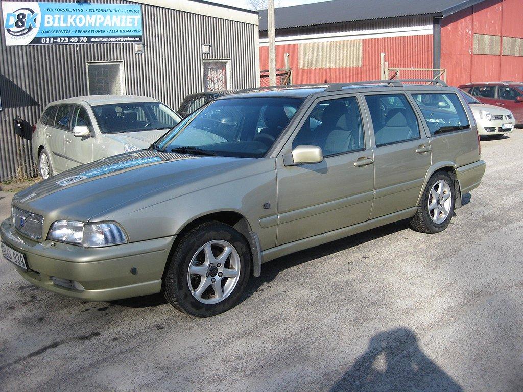 Volvo V70 2.4 GLT 170hk ACC/Drag / 2 BRUKARE !