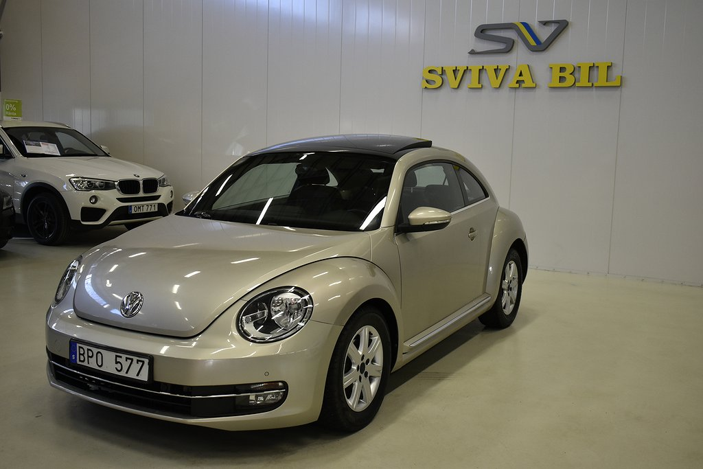 Volkswagen Beetle The 1.6 TDI BlueMotion DSG Sekventiell, 105hk