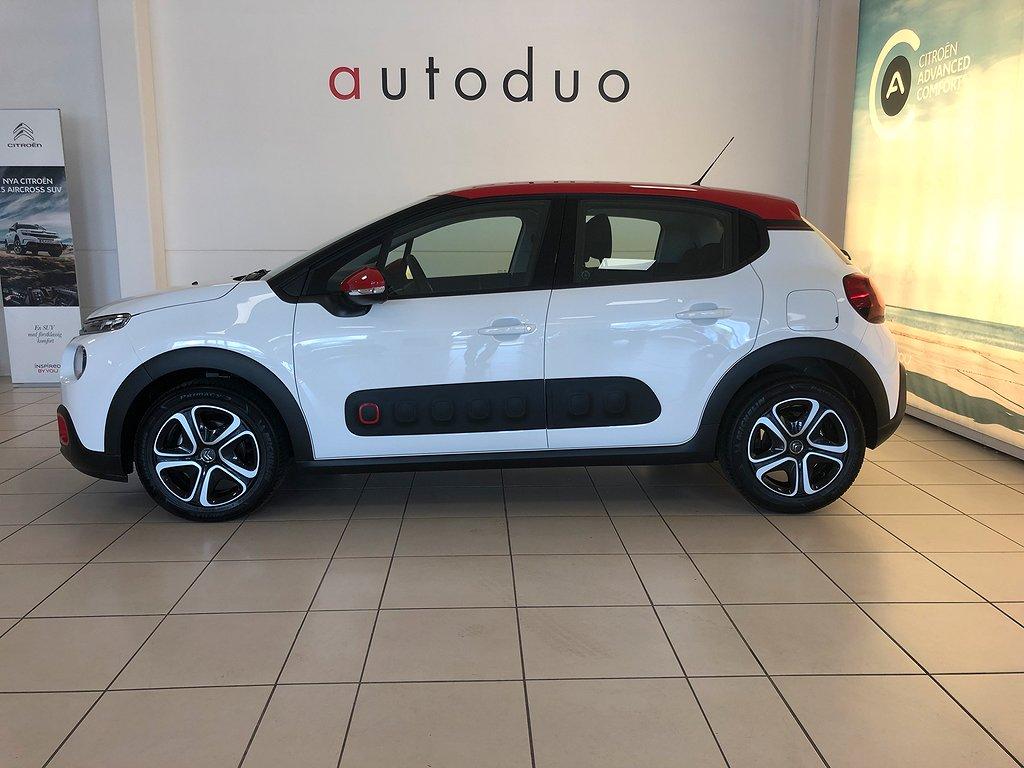 Citroën C3 1.2 PureTech Automat/Apple Euro 6 110hk