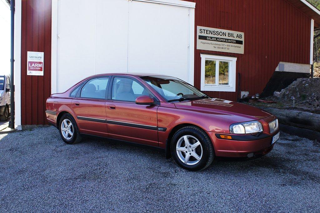Volvo S80 2.4 140Hk, Drag, Acc. Bes.