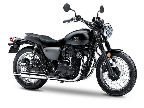 Kawasaki W800 Street 5 års non-stop garanti!