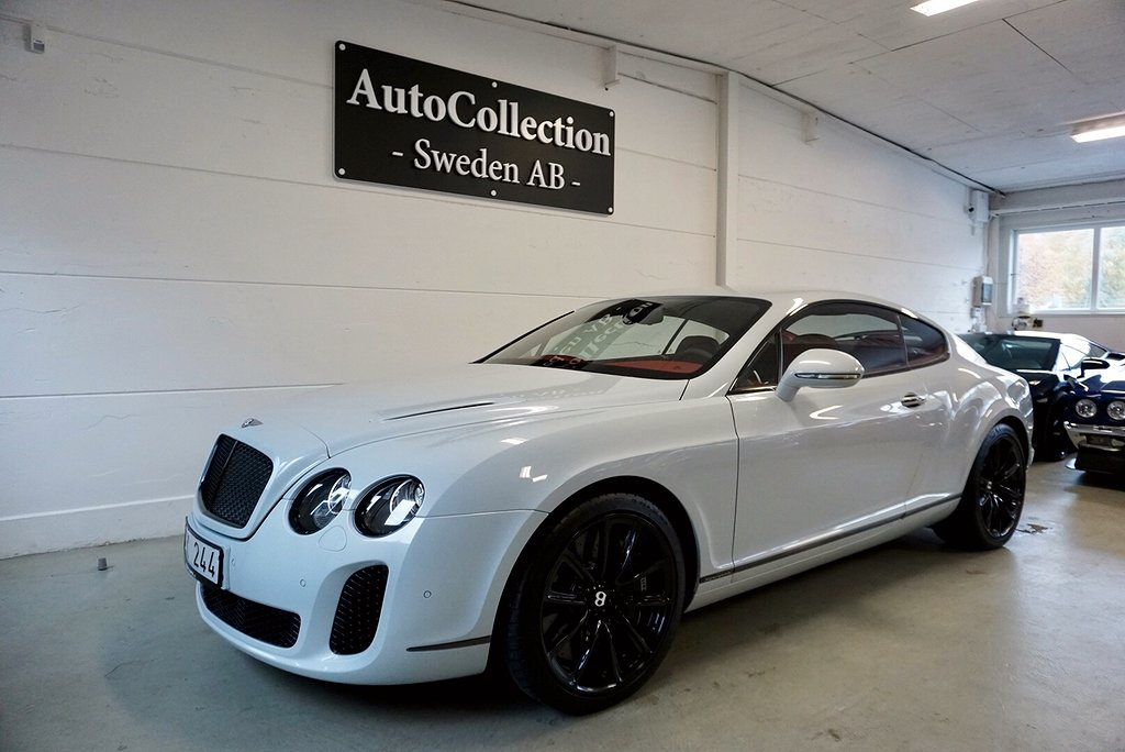 Bentley Continental Supersports 6.0 W12 630hk Svensksåld