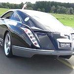 Unika lyxbilen byggdes för att testa däck