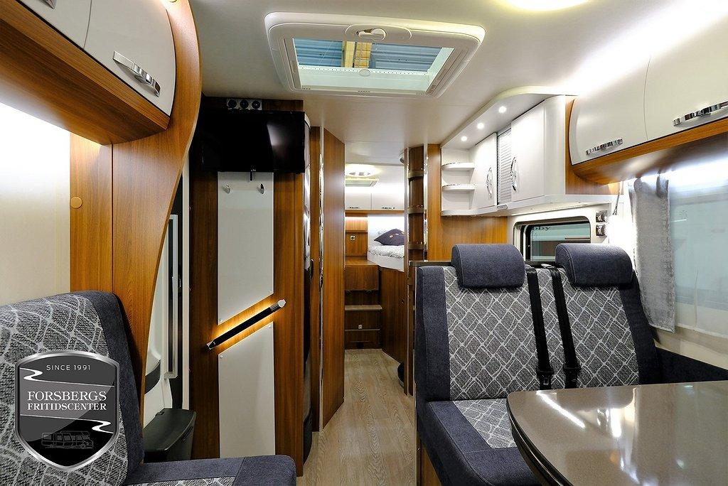 Hobby Optima Premium T 70 GE / Enkelsängar / Garage