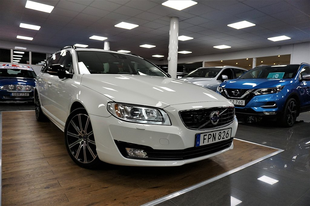 Volvo V70 D4 AWD Geartronic Dynamic Edition, Classic Euro 6 181hk