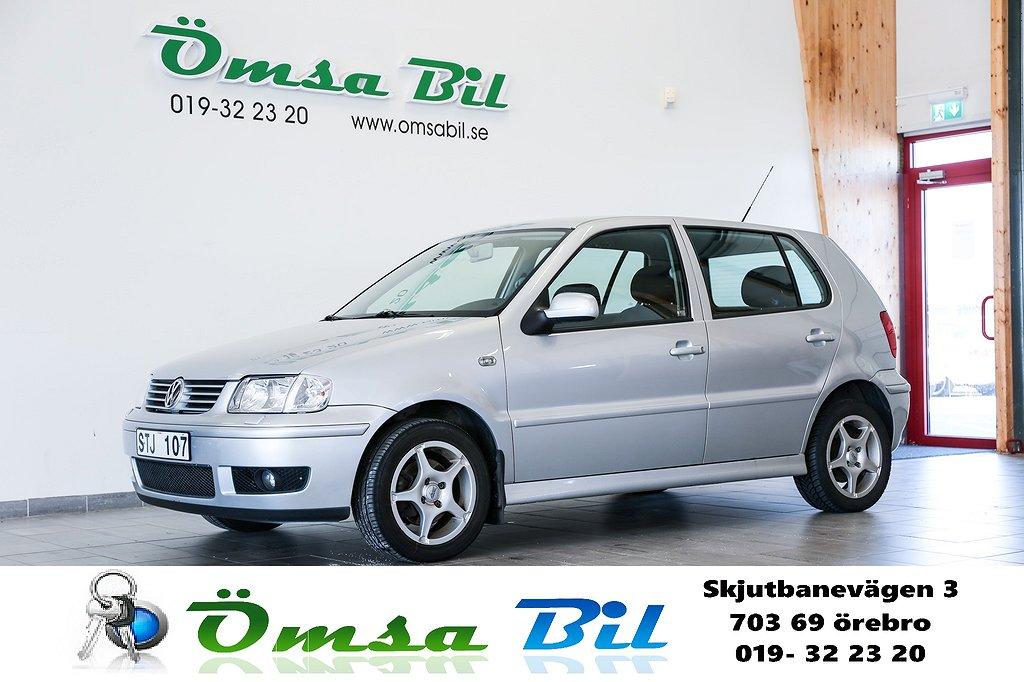 Volkswagen Polo 5-dörrar 1.4 Comfort 75hk