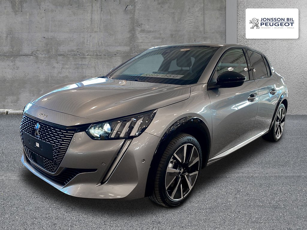 Peugeot E-208 GT Electric Panorama
