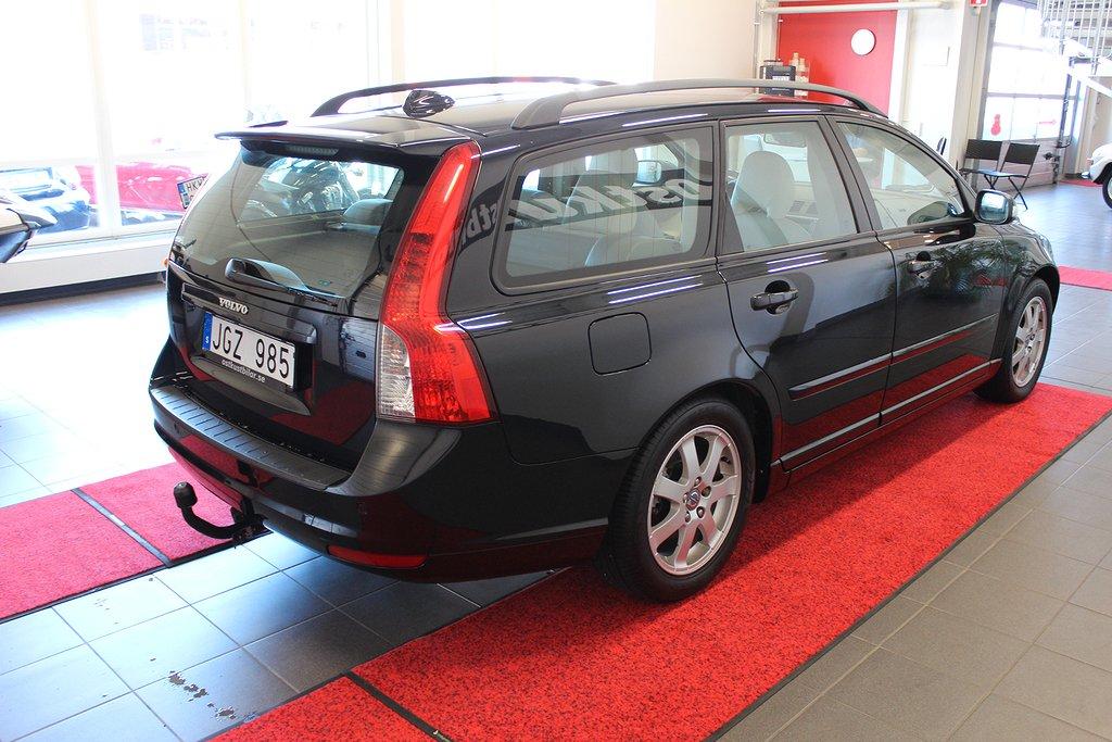 Volvo V50, 1.8 Flexifuel Momentum Xenon Dragkrok