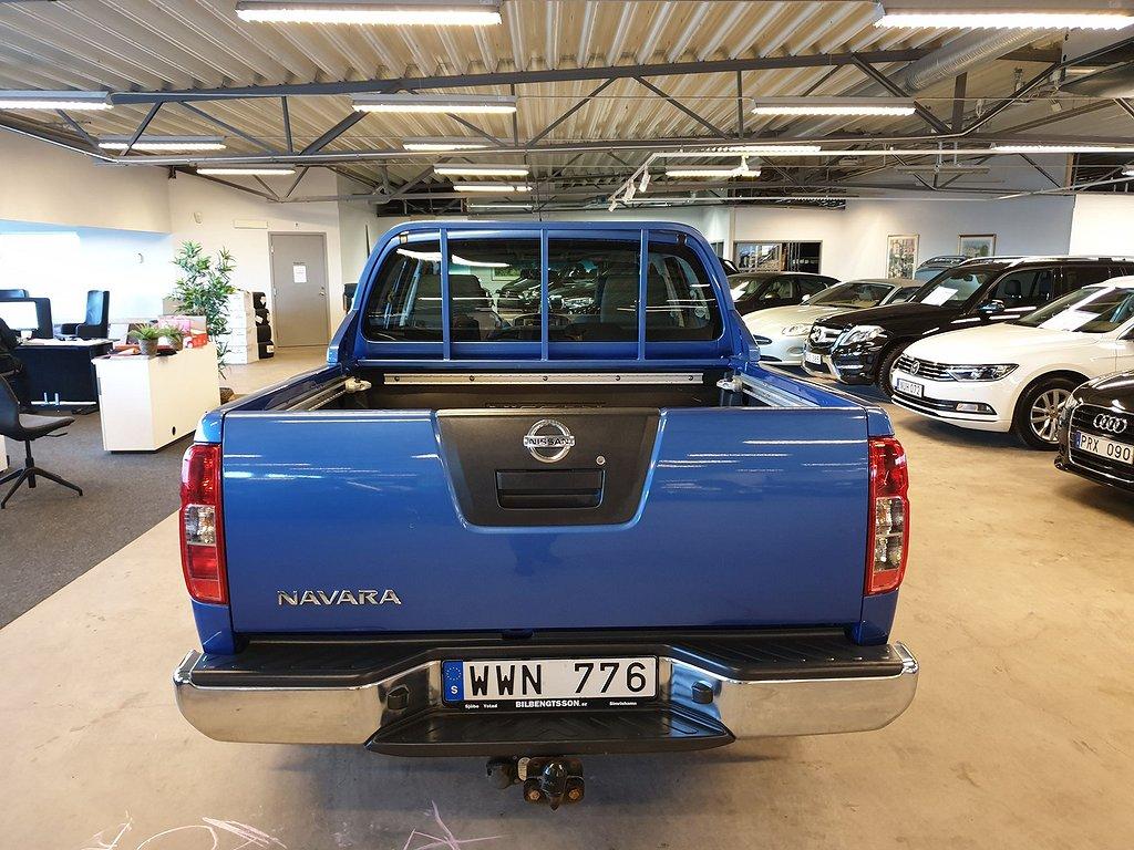 Nissan King Cab Navara 2,5 dci Nyservad