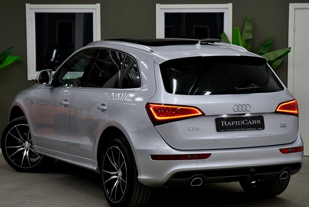 Audi Q5 3.0 TDI Quattro 310hk   Panorama