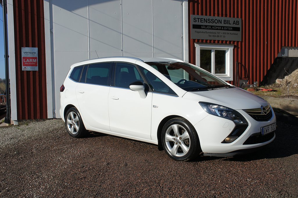 Opel Zafira Tourer 1.4 Turbo 7-sits 140hk