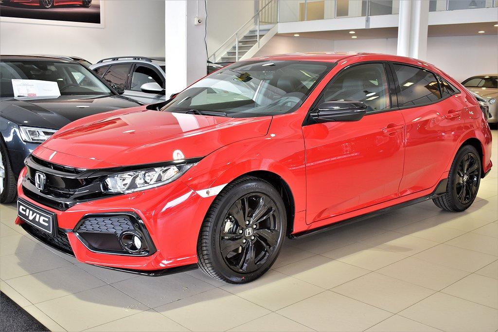 Honda Civic KAMPANJ! Service & V-Hjul ingår / 1,0T  CVT Dynamic
