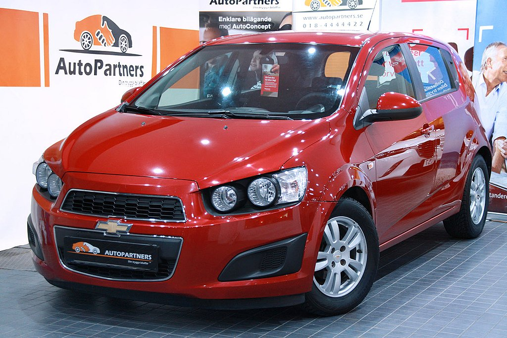 Chevrolet Aveo R.E.S.E.R.V.E.R.A.D
