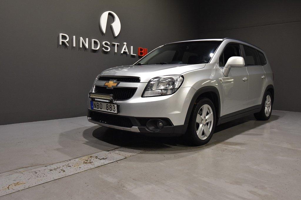 Chevrolet Orlando 1.8 140 HK DRAG M&K-VÄRM NAV 7-SITS