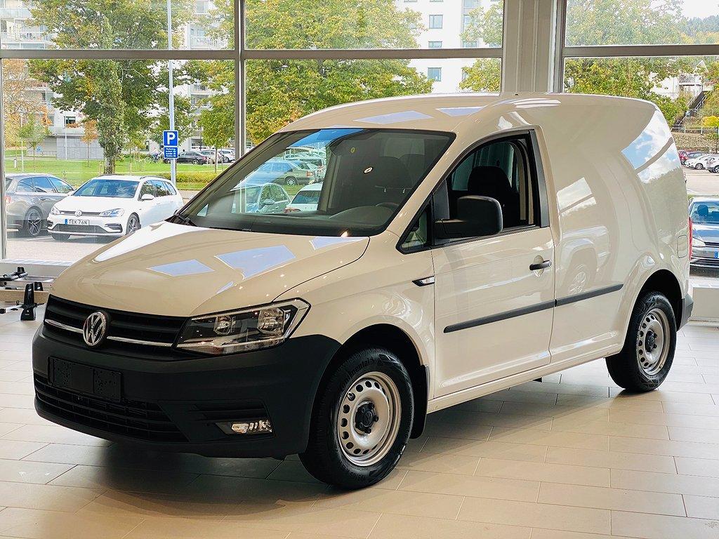 Volkswagen Caddy 75HK Parkeringsvärmare med fjärr + Dragkrok