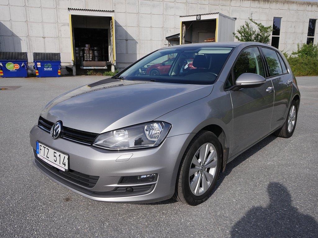 Volkswagen Golf 5-dörrar 1.4 TSI MultiFuel Style 125hk