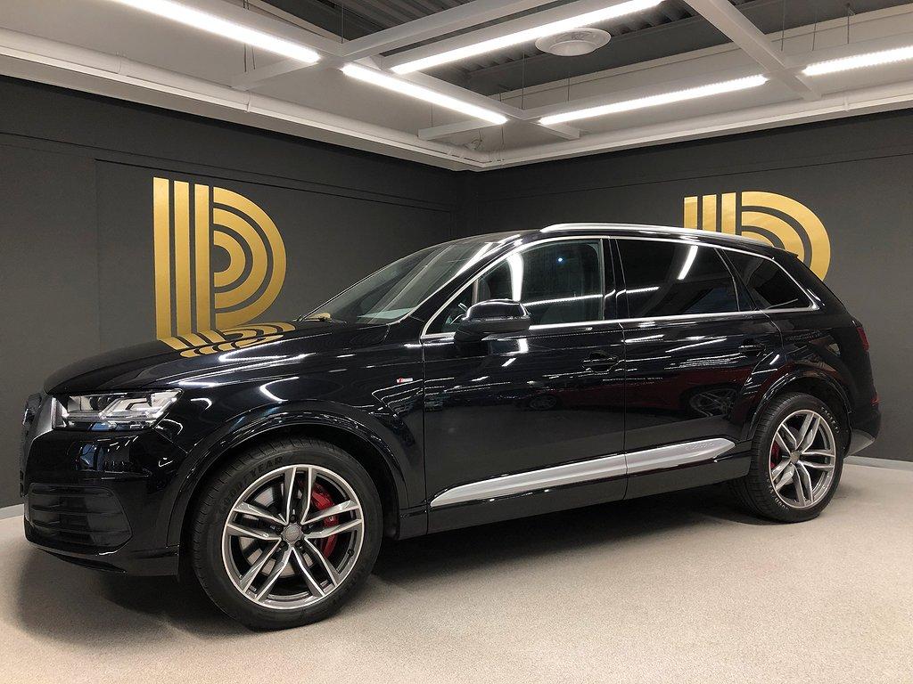 Audi Q7 3.0 TDI (272hk) S-LINE / 7-SITS / Pano