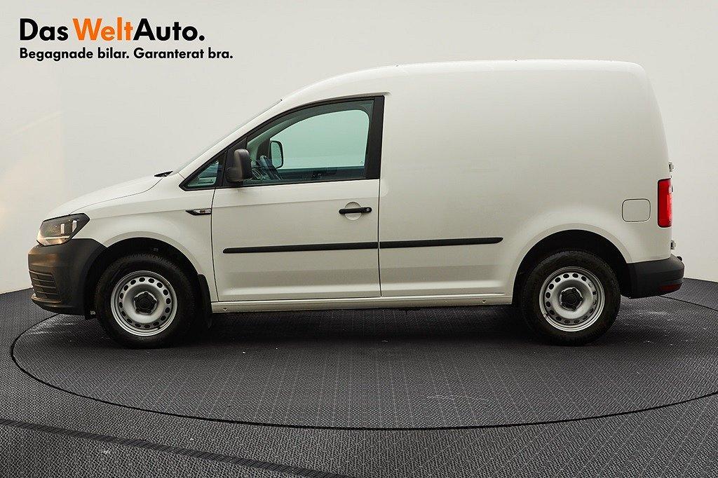 Volkswagen Caddy Skåpbil TDI102 DSG Komfort/Drag/P-värmare