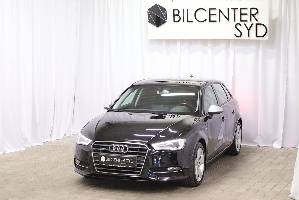 Audi A3 Sportback 2.0 TDI S Tronic NAVI 150hk