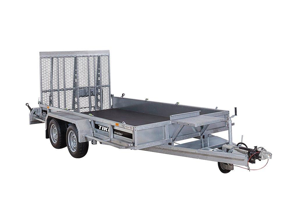 Tikitreiler TP385-DLB Maskinsläp 3500 kg