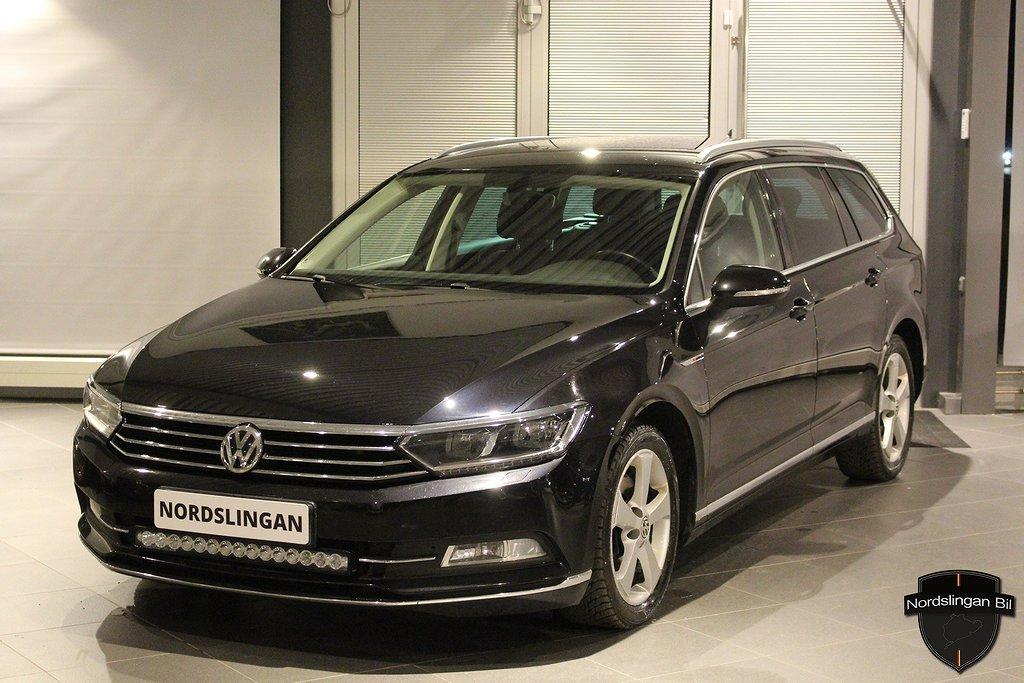 Volkswagen Passat 2,0 TDI 4M / Led / Värmare / Executive