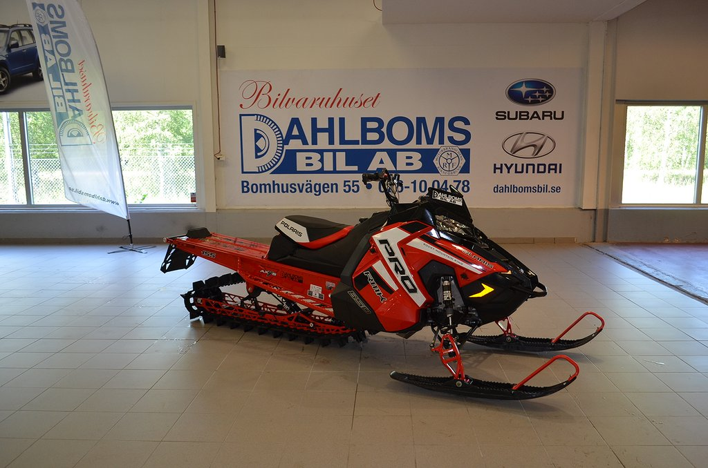 Polaris 850 PRO RMK 155 PIDD Indy Red - *DEMO 2019