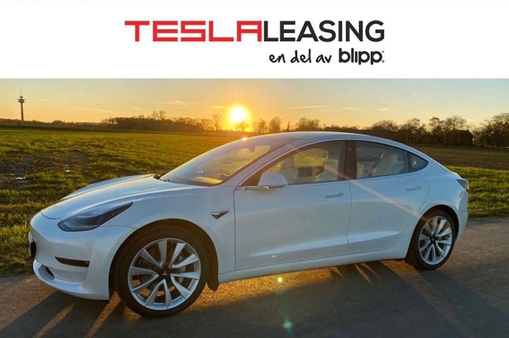 Tesla Model 3 Finansiering