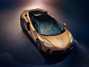 McLarens nya - med plats för golfbag