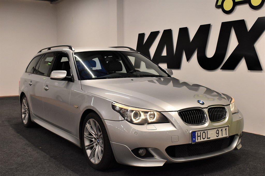 BMW 523 i TOURING | SÖNDAGSÖPPET 23/2 | M-Sport | P-sens | SoV-hjul