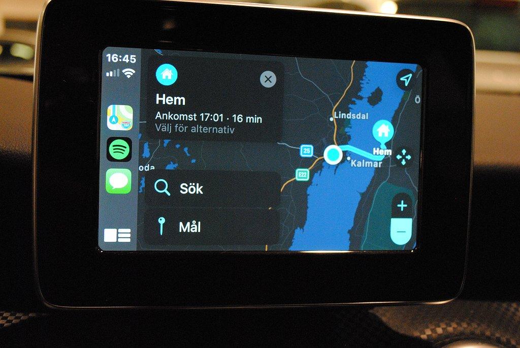 Mercedes-Benz A 180 Euro 6 122hk