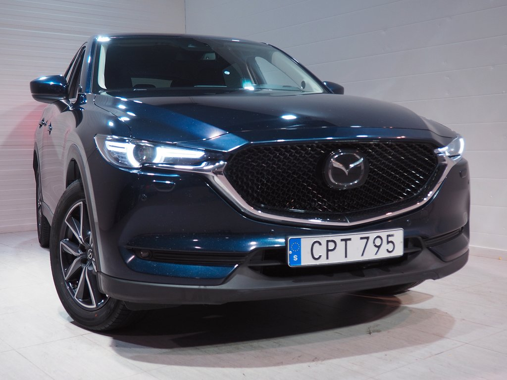 Mazda CX-5 2.5 Optimum AWD Automat 194hk bränslevärmare 2018