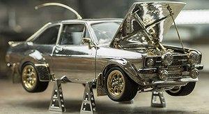 Galna modellbilen - i guld och diamanter