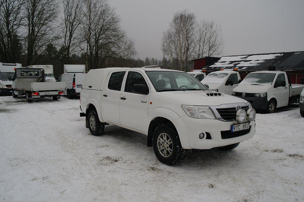 Toyota Hilux 2.5 4x4 144hk Kåpa DRAG 7,600mil