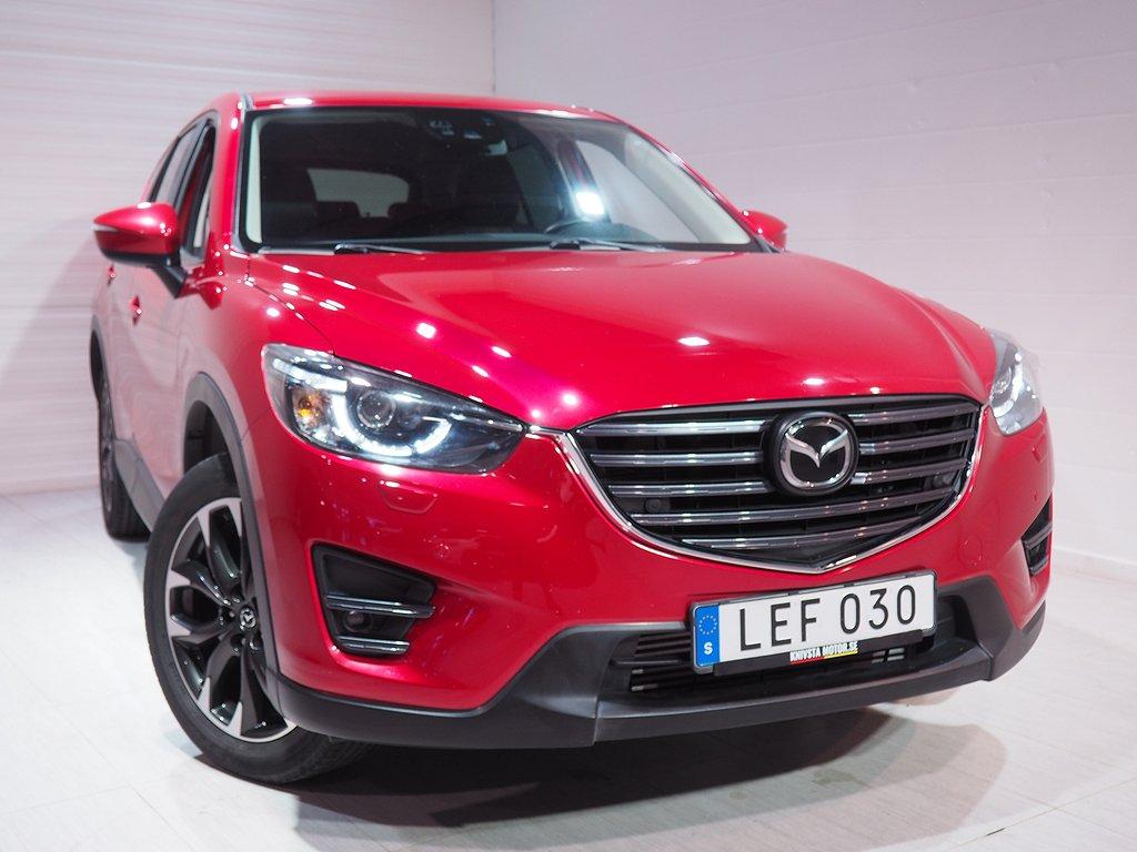 Mazda CX-5 2.2 SKYACTIV-D AWD Aut Optimum Dragkrok 2016