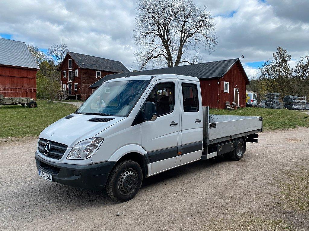 Mercedes-Benz Sprinter 513 Kranbil / Dubbelhytt