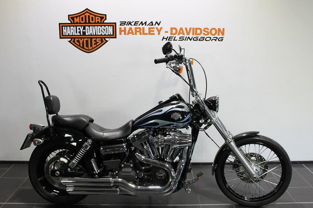 Harley-Davidson FXDWG 1 ÅRS GAR FRI FRAKT