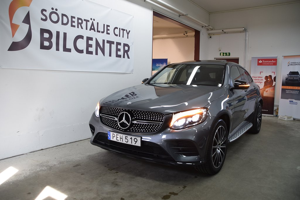 Mercedes-Benz GLC 220 d Coupé 4MATIC AMG Sport TACKLUCKA Euro 6 170hk