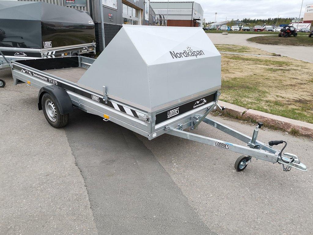 Lorries Snowmaster TT395i inkl mudguard på köpet