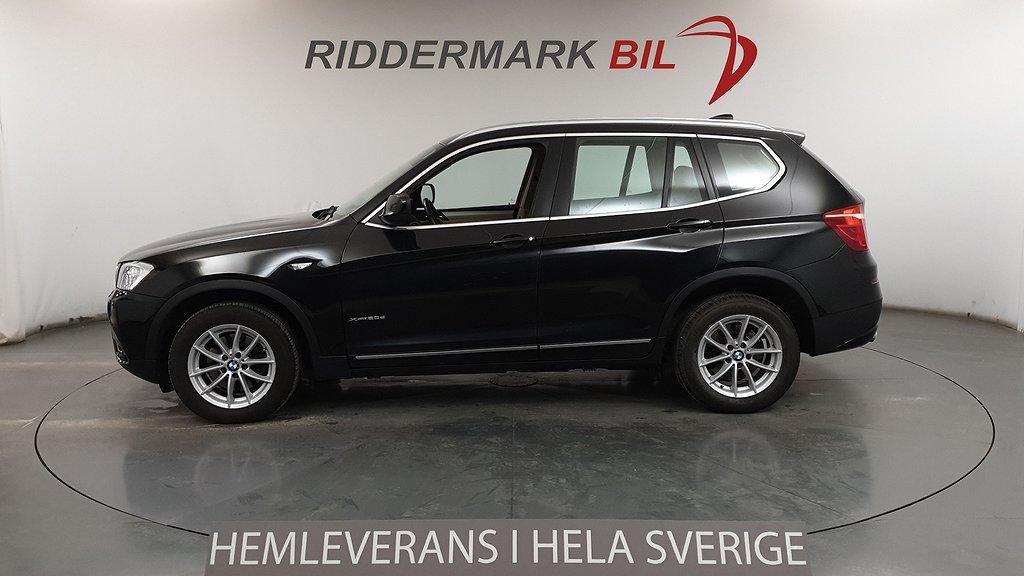 BMW X3 xDrive20d, F25 (184hk)